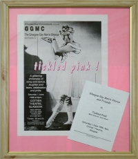 Tickled Pink show by Glasgow Gay Men's Chorus 1996